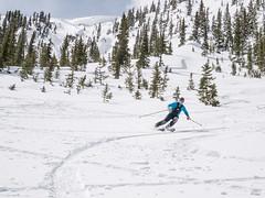 P1000360 (Matt_Burt) Tags: darenmorrison cornice parkcone ski spring