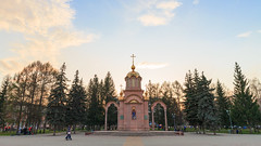 Chapel of icon of Mother of God Joy of All who sorrow (man_from_siberia) Tags: chapel orthodoxchapel orthodox christian architecture kemerovo city siberia russia spring may часовня архитектура город кемерово сибирь россия весна май canon eos 5d dslr canoneos5d canon5d canon5dclassic fullframe canonef24mmf28isusm