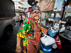 Bangkok Yaowarat Chinatown-3270242 (Neil.Simmons) Tags: bangkok thailand yaowarat candid streetphotography laowa 75mm f2 uwa ultra wide angle asia seasia southeastasia street market woman glasses