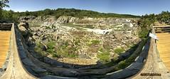 180° Panorama of the Great Falls Overlook, Potomac Maryland (hillels) Tags: potomac river greatfalls co canal maryland rocks panorama overlook scenic trail water rapids 180degrees nikon d700 2011 hiking hike virginia usa nature panoramio632543161124577