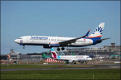 TC-SOC Boeing 737-8HC(W) Sun Express (elevationair ✈) Tags: dub eidw dublin airport dublinairport airliners airlines avgeek aviation airplane plane sun sunny sunshine sunexpress boeing 737 738 boeing7378hcw tcsoc