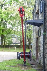 Crane at Whaley Bridge Wharf   (Peak Forest Canal)   May 2019 (dave_attrill) Tags: crane wharf whaleybridge peakforest canal towpath peakdistrict nationalpark derbyshire may 2019 cheshirering waterway