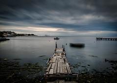 Before the rain (KostasTsiaousis) Tags: seascape clouds sea dock coast xiaomi mi9 thessaloniki kalamaria mean stack handheld smartphone