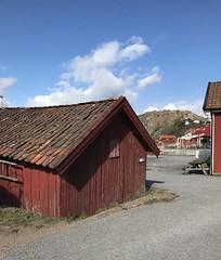 Bovallstrand before season (annarkias) Tags: spring västkusten bohuslän seasode village boathouse outdoor bohuscoast sweden