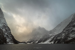 Norway Fjord (JusKlaud) Tags: norway fjords aurland winter sunrise nature mountains cruise