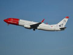 "LN-DYA, Boeing 737-8JP(WL), 39162 / 2994, Norwegian Air Shuttle, ""Erik Bye"", CDG/LFPG 2019-02-17, off runway 27L. (alaindurandpatrick) Tags: 391622994 lndya 737 738 737800 737nextgen boeing boeing737 boeing737800 boeing737nextgen jetliners airliners dy nax norshuttle norwegian norwegianairshuttle airlines cdg lfpg parisroissycdg airports aviationphotography"