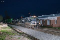 The Q at Mableton (travisnewman100) Tags: norfolk southern ns train railroad rr freight intermodal inman terminal district c449w sd70acu emd ge 22q mableton georgia division