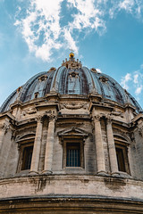 Base of the Dome (Octal Photo) Tags: 500px rome italy vatican catholic church st peters basilica di san pietro architecture city base dome