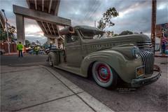 1946 chevy truck (pixel fixel) Tags: 1946 aircooled barriologan chevrolet chicanopark green mccloud olive sandiego truck tweakedpixels ©2019kathygonzalez