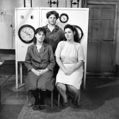 People & objects. 1992. (juri_nesterov) Tags: film soviet powerstation bw lugansk region rolleiflex 35f ukraine serie
