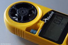 Measuring The Wind (Retro Photo International) Tags: macro wind meter kestrel carlzeissjena tessar 50mm 35
