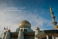 Masjid Negeri Sabah (Lt Fukai Enterprise ( akubudaknakal )) Tags: sabah malaysia malaysiavisit cuticutimalaysia sabahtourisim borneo kotakinabalu nikon nikkor d3000 masjid mosque building bangunan masjidnegerisabah