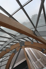 IMG_9759 Fondation Louis Vuitton by Frank O. Gehry (marklarmuseau) Tags: jardindacclimatation frankowengehry museum ©copyrightmarklarmuseau fondationlouisvuitton paris boisdeboulogne france