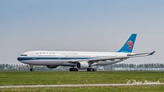 B-8359   Airbus A330-323 - China Southern Airlines (Peter Beljaards) Tags: b8359 chinasouthernairlines a330 airbusa330 ams eham schiphol airplane jetliner aircraft plane departure polderbaan nikon7003000mmf4556 nikond5500 haarlemmermeer msn1714 pw4000 prattwhitney vertrek takeoff