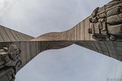 Arch of Freedom (Ivo Radoev) Tags: arch freedom monument beklemeto bulgaria concrete troyan pass mountain balkan stara planina арка на свободата беклемето стара планина българия троянски проход троян кърнаре