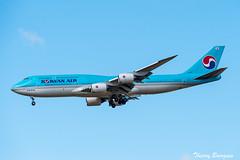 [CDG] Korean Air Boeing 747-8 _ HL7643 (thibou1) Tags: thierrybourgain cdg lfpg spotting aircraft airplane nikon d810 tamron sigma landing koreanair boeing boeing747 b747 b747800 b7478 b748 hl7643 seoul icn