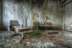 Sit and wait for the decay experience (marcelplette) Tags: urbex urban exploration hdr decay germany abandoned factory chair house lost lostplaces wow beautiful travel plette