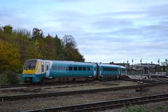 Transport for Wales Coradia 175111 (Will Swain) Tags: shrewsbury severn bridge junction signal box shropshire train trains rail railway railways transport travel uk britain vehicle vehicles england english europe signals network 27th october 2018 for wales coradia 175111 class 175 111