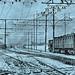 Railroad station in Mondane, Italy 1919 NARA111-SC-64813