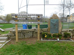 Rhode Island Red Monument (jimmywayne) Tags: adamsville rhodeisland rhodeislandred chicken monument birthplace founding memorial historic newportcounty nrhp nationalregister