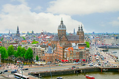 a view from SkyLounge Amsterdam (1crzqbn) Tags: sliderssunday cityscape textures urban 1crzqbn
