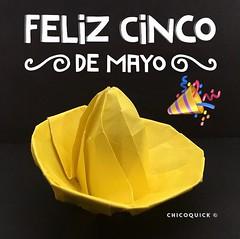 Origami Time! Sombrero by @henrypham89 18/52 #おりがみ #春 #Origami #Paper #Foldedbyme #Foldoftheday #Instaorigami #Spring #Sunday #May #05 #2019 #ElParaiso #Caracas #Venezuela #日本 #中國 #대한민국 #Uk #Deutsche #Россия #Ελλάς #chicoquick (chicoquick) Tags: おりがみ 春 origami paper foldedbyme foldoftheday instaorigami spring sunday may 05 2019 elparaiso caracas venezuela 日本 中國 대한민국 uk deutsche россия ελλάσ chicoquick