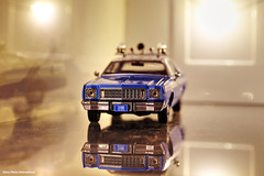 Fury 3100 (Retro Photo International) Tags: diecast greenlight 143 plymouth fury nypd minolta 50mm 14 police car 1975