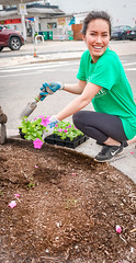 2019.05.04 Vermont Avenue Garden Blooms and Work Party, Washington, DC USA 01846