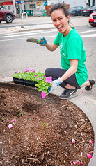 2019.05.04 Vermont Avenue Garden Blooms and Work Party, Washington, DC USA 01847