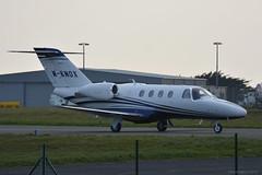 M-KNOX Cessna 525 Citation M2 EGNS 11/4/19 (David K- IOM Pics) Tags: egns iom isleofman isle man ronaldsway airport cessna 525 citation m2 c25m