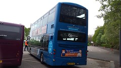 Newly branded go north east 6101 (Cameron's bus photos) Tags: nebuses wrightgemini2 nl63yje 6101 gonortheast