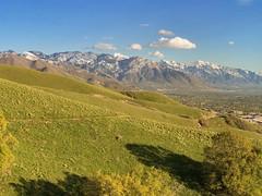 Eastern Salt Lake City from the Bonneville Shoreline Trail