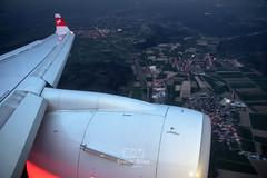 Swiss / CS100 / HB-JBA / LX857 (erdii123) Tags: hbjba lx857 bremen zurich flight airbus a220 bombardier cs100