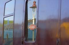 Stationary (Tony Tooth) Tags: nikon d7100 sigma 70mm train reflection station cheddleton staffs staffordshire cvr churnetvalleyrailway