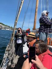 05052019-13 (Fruitcake Enterprises) Tags: centerforwoodenboats thecenterforwoodenboats seattle lakeunion birthweek nancyg bill shauna lavengro
