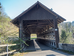 NEC290 Anzenwil Covered Wooden Bridge over the Necker River, Mogelsberg - Ganterschwil, Canton of St. Gallen, Switzerland (jag9889) Tags: 2019 20190420 bach bridge bridges bruecke brücke bütschwilganterschwil ch cantonstgallen cantonofstgallen coveredbridge crossing europe fluss footbridge fussgängerbrücke gkz317 helvetia holzbrücke infrastructure kantonstgallen mogelsberg necker neckertal outdoor pedestrianbridge pont ponte puente punt river roadbridge sg sanktgallen schweiz span structure suisse suiza suizra svizzera swiss switzerland thurtributary toggenburg wasser water waterway woodenbridge jag9889