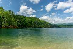Lake shore (agasfer) Tags: 2019 southcarolina oconee county devilsforkstatepark lake jocassee sony a6000 sonye3556pz1650oss sky clouds appalachia