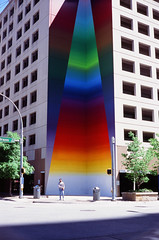 ATX - Urban Murals (FlotographyATX) Tags: yashica velvia street urban fujifilm downtown