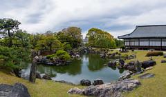 A Garden at Nijo Castle (Michael Whyte) Tags: japan kyoto nijocastle japanesegarden garden