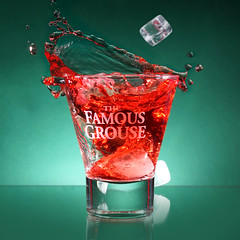 The Famous Grouse,... (Wim van Bezouw) Tags: sony ilce7m2 highspeed drink glass shot airgun pluto plutotrigger