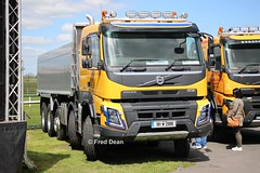 Volvo FMX 420 (191W2000). (Fred Dean Jnr) Tags: waterfordtruckmotorshow volvo fmx 420 191w2000 tramoreracecourse waterford may2019 tippertruck waterfordtruckmotorshow2019