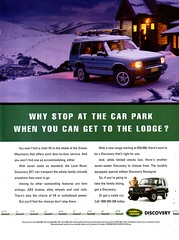 1997 Land Rover Discovery SE7 & Special Edition Rossignol 4WD Wagon Aussie Original Magazine Advertisement (Darren Marlow) Tags: 1 7 9 19 97 1997 l land r rover d discovery rossignol s special e edition 4 w 4wd wagon c car cool collectible collectors classic a automobile v vehicle b british english britain england 90s