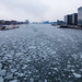 Ice in the harbour