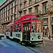 Tram linea 1 pellicolato R101 diretto al capolinea di Greco