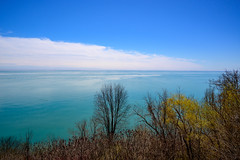 Lake View (dunescape) Tags: lakeontario scarboroughbluffs toronto spring trees