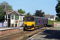 150104 Topsham (CD Sansome) Tags: station train trains topsham fgw gwr first great western railway sprinter 150 150104