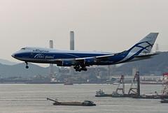 AirBridgeCargo Boeing 747-4KZ(FSCD) VQ-BHE (EK056) Tags: airbridgecargo boeing 7474kzfscd vqbhe hong kong chek lap kok airport