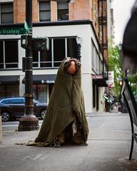 Blanket guy (mikekendrick19) Tags: portland losangeles seattle homeless street sonyalpha sony portrait streetportrait portraiture mood