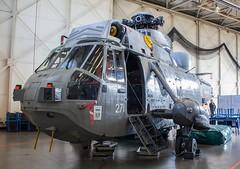 ZA131 Royal Navy Westland Sea King HAS.5 @ HMS Sultan, Gosport, Hampshire. (Sw Aviation) Tags: za131 royal navy westland sea king has5 hms sultan gosport hampshire has6 has1 helicopter heliport helipad helicopters avgeek aviation flying flight hangar stored training worked