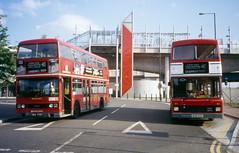 Blackwall station (DaveAFlett) Tags: londoncentral leyland titan olympian m410rvu ohv773y